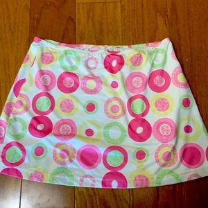 LBH circles cute tennis skirt
